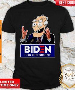 Official Biden For President Shirt