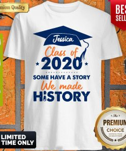 We Made History Senior 2020 Personalized Shirt
