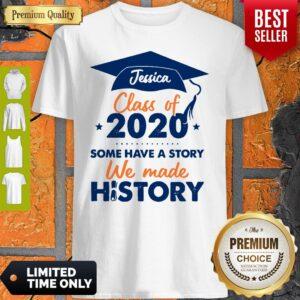 We Made History Senior 2020 Personalized Shirt