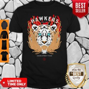Official Hawkers Asian Street Food Tiger Shirt