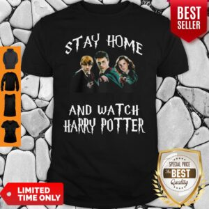 Stay Home And Watch Harry Potter Characters Shirt