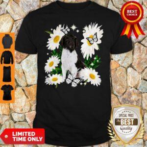 Official Small Munsterlander Daisy Flower Classic Shirt