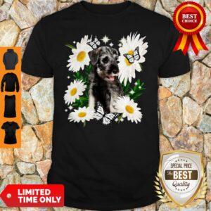 Official Standard Schnauzer Daisy Flower Classic Shirt