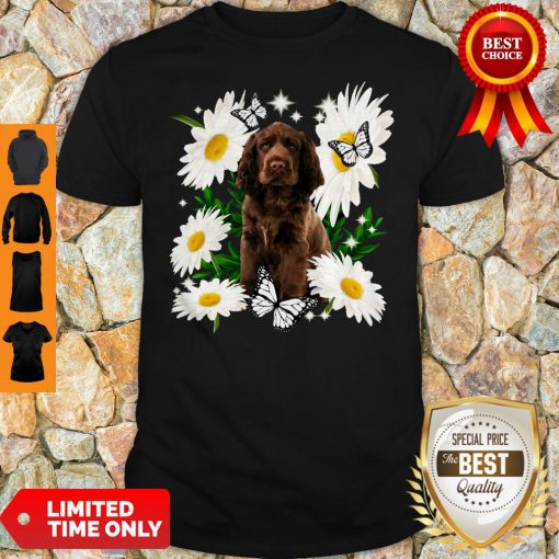 Official Sussex Spaniel Daisy Flower Classic Shirt