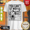 Official Minor Threat Horror You Can't Sit With Us Shirt
