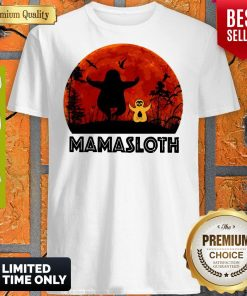 Official Sloth Mamasloth Shirt