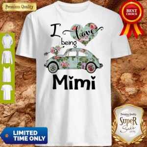 Official Floral Car I Love Being A Mini Shirt
