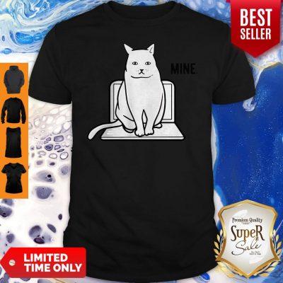 Official Mine Computer Cat Shirt