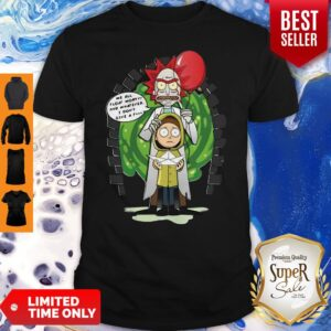 Rick And Morty We All Float Morty And Whatever I Don'T Give A Fuck Coronavirus Shirt