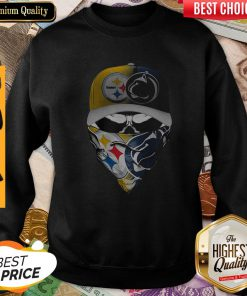 Skull Mask Player Pittsburgh Steelers Vs Penn State Nittany Lions Sweatshirt