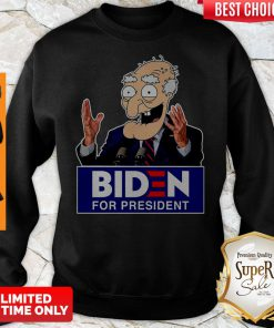 Official Biden For President Sweatshirt