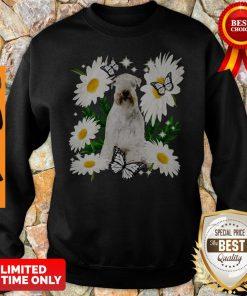 Official Soft Coated Wheaten Terrier Daisy Flower Classic Sweatshirt