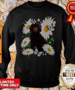 Official Standard Poodle Daisy Flower Classic Sweatshirt