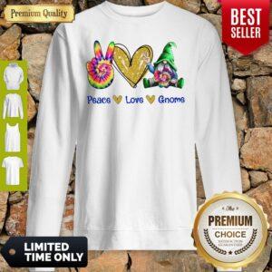 Official Peace Love Gnome Diamond Sweatshirt