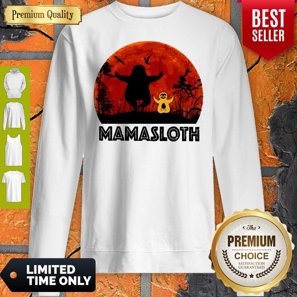 Official Sloth Mamasloth Sweatshirt