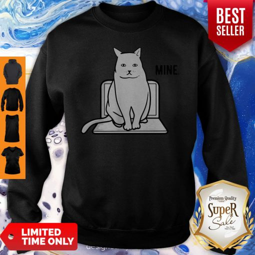 Official Mine Computer Cat Sweatshirt