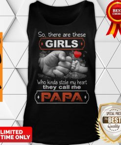 So There's This Girl Who Kinda Stole My Heart She Calls Me Pops Tank Top
