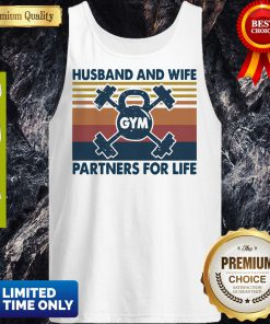 Gym Husband And Wife Partners For Life Vintage Tank Top