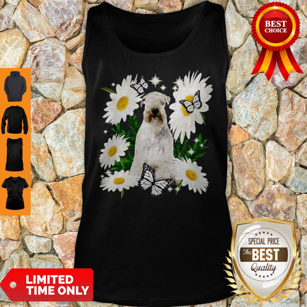 Official Soft Coated Wheaten Terrier Daisy Flower Classic Tank Top