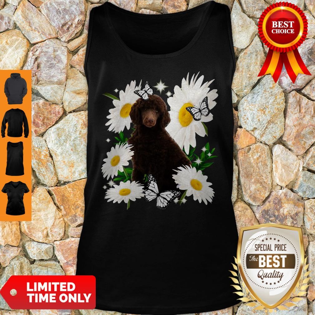 Official Standard Poodle Daisy Flower Classic Tank Top