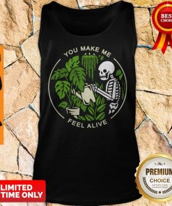 Official Skeleton You Make Me Feel Alive Tank Top