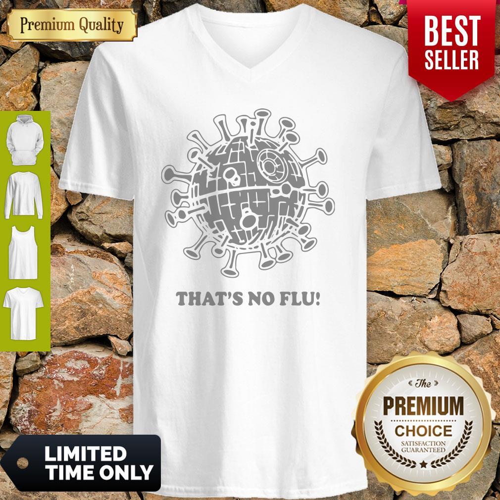 Official That's No Flu Coronavirus V-neck
