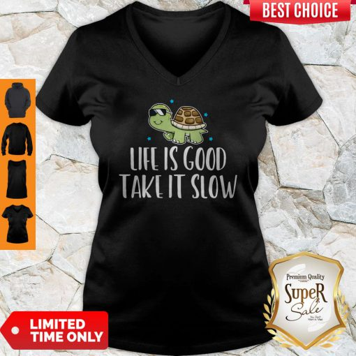 Official Life Is Good Take It Slow V-neck