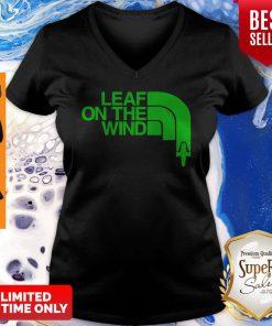 Official Leaf On The Wind V-neck