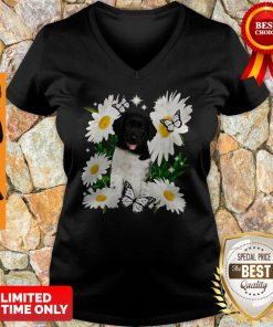 Official Stabyhoun Daisy Flower Classic V-neck