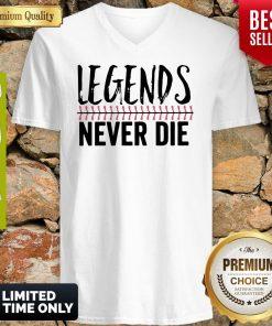 Official Legends Never Die V-neck