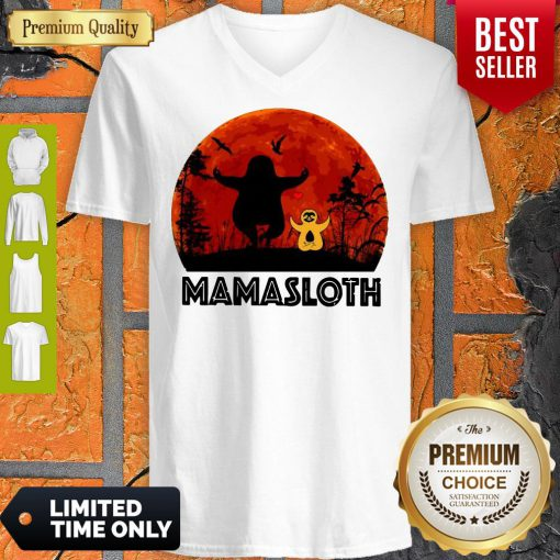 Official Sloth Mamasloth V-neck