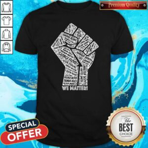 All Name Victime We Matter BLM Shirt