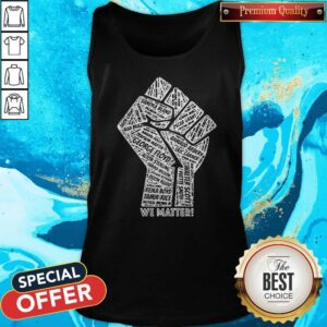 All Name Victime We Matter BLM Tank Top