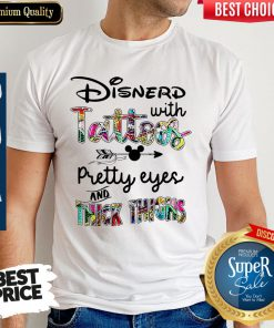 Awesome Disnerd With Tattoos Shirt
