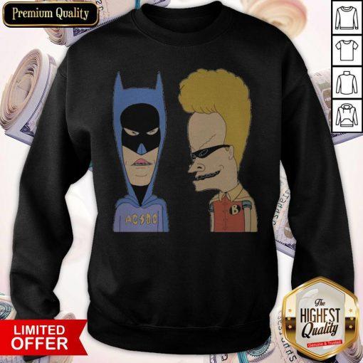 BEAVIS AND BUTTHEAD HEROES COSTUME Sweatshirt