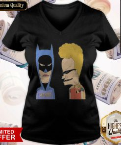 BEAVIS AND BUTTHEAD HEROES COSTUME V-neck