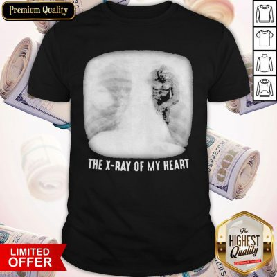 Bigfoot The X-ray Of My Heart Shirt