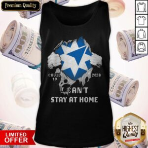 Blood Inside Me Ameriprise Financial COVID 19 2020 I Can't Stay At Home Tank Top