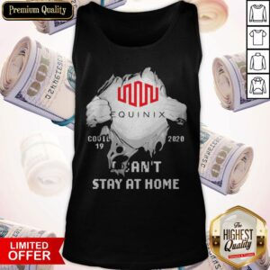 Blood Inside Me Equinix COVID 19 2020 I Can't Stay At Home Tank Top
