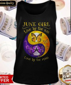 Butterfly June Girl Love By The Sin Love By The Moon Tank Top