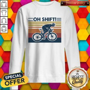 Cycling Oh Shift Vintage Sweatshirt