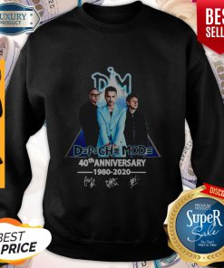 Dpch Mod 40th Anniversary 1980 2020 Signature Sweatshirt
