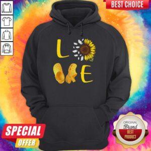 Good Sunflower Love Croc Hoodie