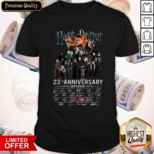 Harry Potter 23rd Anniversary 1997-2020 Signature Shirt