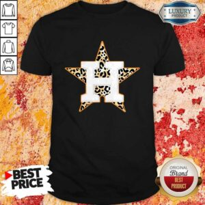 Houston Astros Leopard Shirt