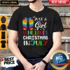 Just A Girl Who Loves Christmas In July Shirt