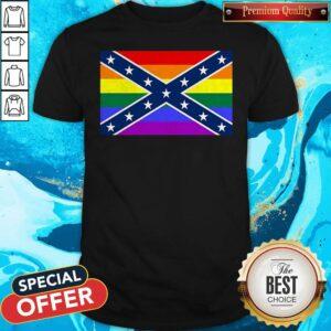 LGBT Confederate Flag Shirt