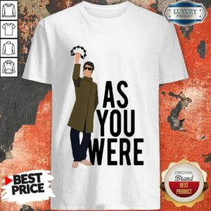 Liam Gallagher Say As You Were Shirt