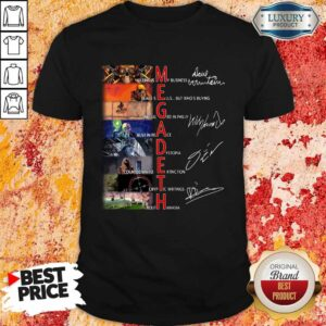 Megadeth Anniversary Shirt
