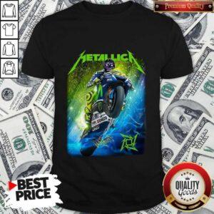 Metallica Valentino Rossi Signature Shirt